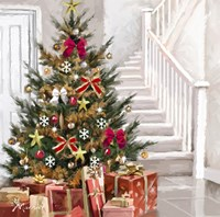 Presents Under Tree 1 Fine-Art Print