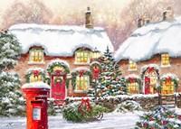 Winter Cottages 2 Fine-Art Print