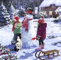 Snowman 2 Fine-Art Print