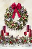 Xmas Wreath Fine-Art Print