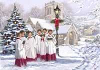 Christmas Choir 2 Fine-Art Print