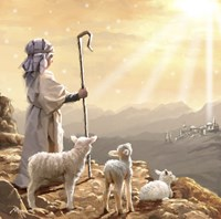 Shepherd Boy 3 Fine-Art Print