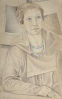 Portrait of Madame Lipchitz, 1918 Fine-Art Print