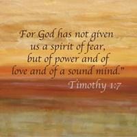 Horizons Spice Scripture Sayings I Fine-Art Print