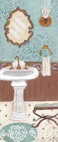 Fancy Bath Panel I Fine-Art Print