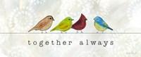 Birds of a Feather II Fine-Art Print