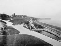 Juneau Park and Lake Michigan, Milwaukee Fine-Art Print