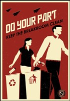 Clean Breakroom Fine-Art Print