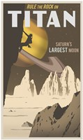 Rock Climbing On Titan Fine-Art Print