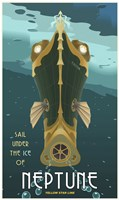 Sail Under The Ice Of Neptune Fine-Art Print