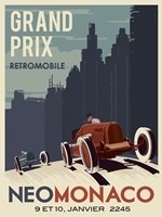 Vintage Car Race Fine-Art Print