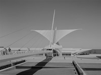 Milwaukee Art Museum, Quadracci Pavilion, 700 North Art Museum Drive, Milwaukee, Milwaukee County, WI Fine-Art Print