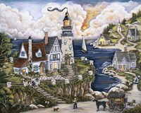 Pelican Point Lighthouse Fine-Art Print