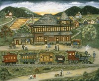 Wallace Station Fine-Art Print