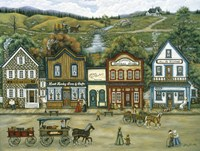 The Mining Town Of Murray Fine-Art Print