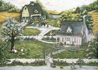 A Story At Grandmas Fine-Art Print