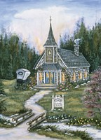 Wildwood  Church Fine-Art Print
