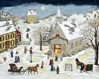The Children's Christmas Program Fine-Art Print