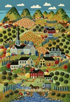 Country Town Fine-Art Print