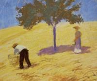 Baum Im Kornfeld - Tree In A Rye-Field, 1907 Fine-Art Print