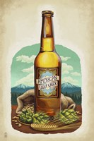 American Light Lager Beer Fine-Art Print