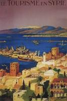 Le Tourisme En Syrie Syria Ad Fine-Art Print