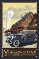 Old Faithful Inn Yellowstone Ad Fine-Art Print