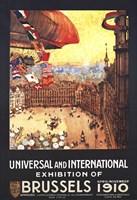 Brussels 1910 Exhibition Fine-Art Print