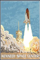 Kennedy Space Center Ad Fine-Art Print
