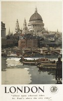 London St. Paul's Ad Fine-Art Print