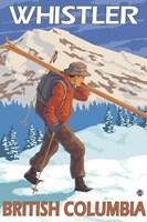 Whistler British Columbia Ski Fine-Art Print