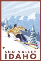 Sun Valley Idaho Ski Fine-Art Print