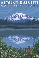 Mount Rainier National Park I Fine-Art Print