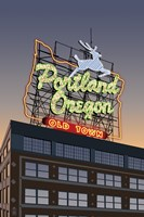 Portland Oregon Factory Fine-Art Print