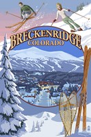 Breckenridge Colorado Ad Fine-Art Print