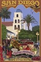 San Diego Fresh Produce Fine-Art Print