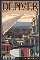 Denver Colorado Ad Fine-Art Print