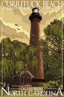 Currituck Beach Lighthouse Carolina Fine-Art Print
