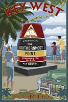 Key West Southernmost Point Fine-Art Print