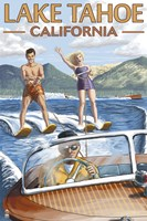 Lake Tahoe California Water Ski Fine-Art Print