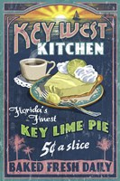 Key West Kitchen Lime Pie Fine-Art Print