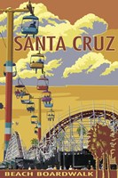 Santa Cruz Boardwalk Fine-Art Print