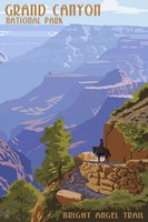 Grand Canyon Bright Nigel Trail Fine-Art Print