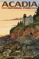 Acadia Park Bass Harbor Lighthouse Fine-Art Print
