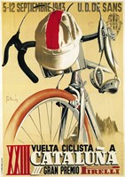 Vuelta Ciclista XXIII Cataluna Bicycle Fine-Art Print