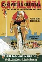 Vuelta Ciclista XXXVI Cataluna Bicycle Fine-Art Print