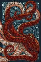 Octopus Mosaic Fine-Art Print