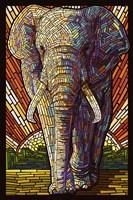 Elephant Mosaic Fine-Art Print