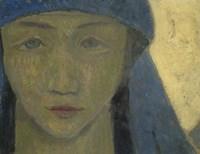 Head Of A Breton Woman, 1908 Fine-Art Print