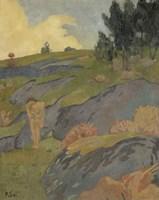 Breton Eve, Or Melancholy, 1891 Fine-Art Print